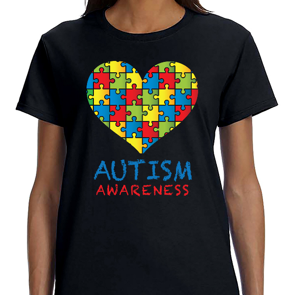 Austism Awareness - Puzzle Heart