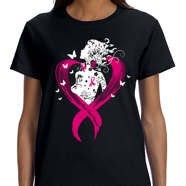 Breast Cancer Awareness - Silhouette