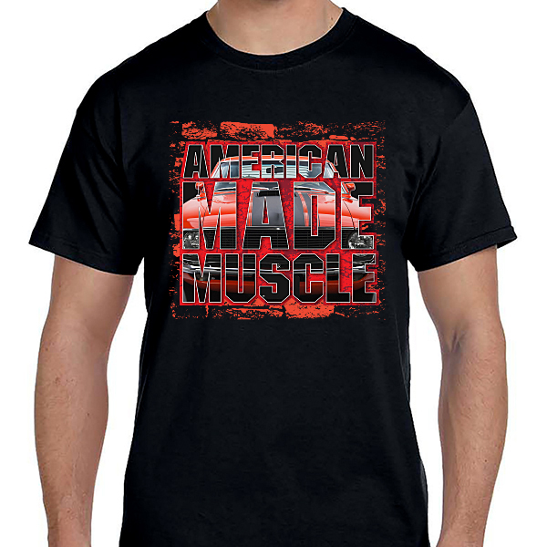 Cars - American Made Muscle Red
