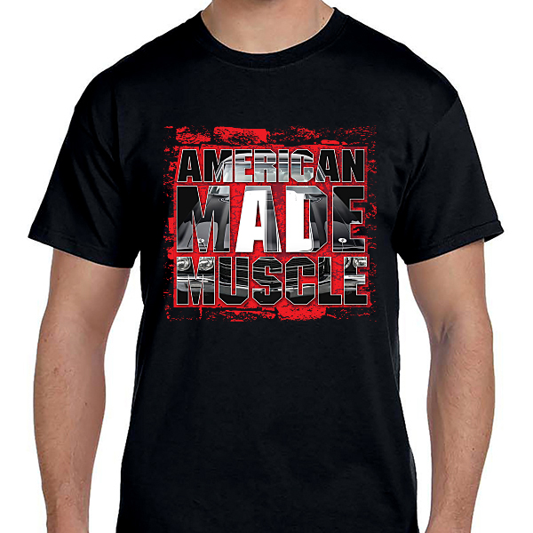 Cars - American Made Muscle Black