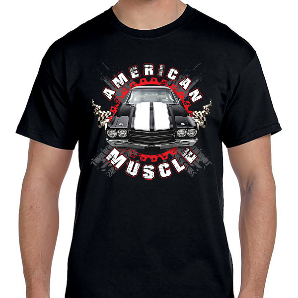 Cars - American Muscle Black