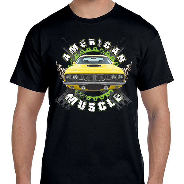 Cars - American Muscle Yellow