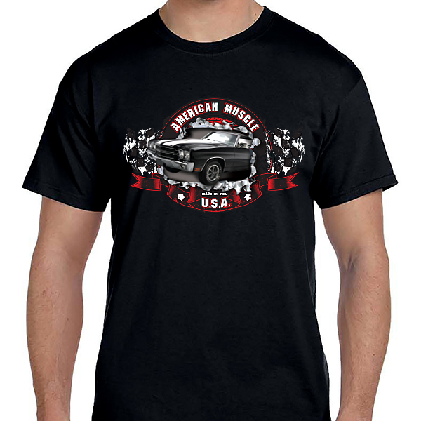 Cars - American Muscle USA Black