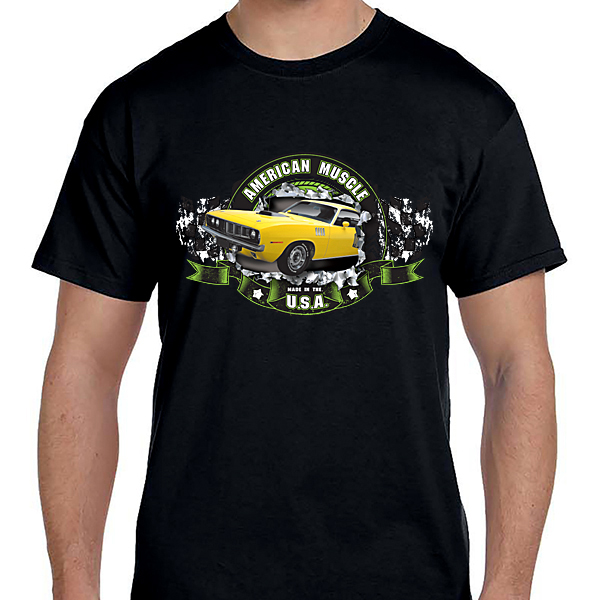 Cars - American Muscle USA Yellow